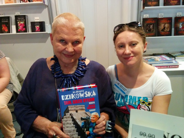 Elżbieta Dzikowska: Tam, gdzie byłam