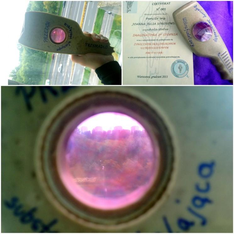 Przedmioty niezbędne wpodróży: Żywiczy Imaginoskop Ultrafioletowy
