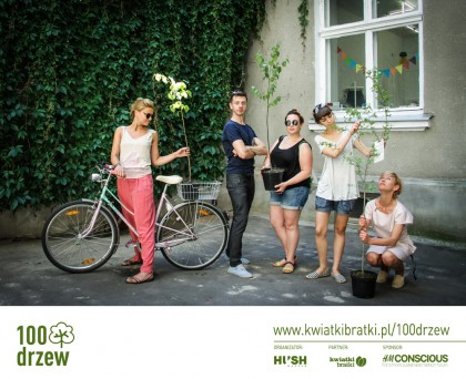 Akcja 100 drzew dla Warszawy