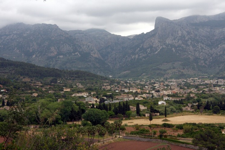 Dolina Vall de Sóller (Majorka)