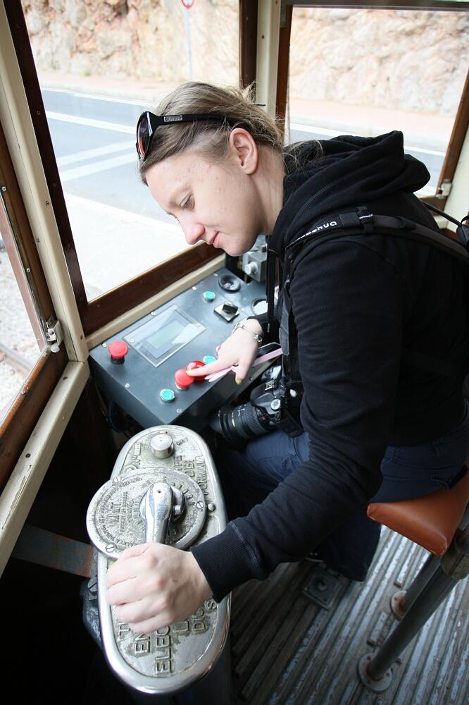 Drewniany tramwaj Tranvía de Sóller (Majorka)
