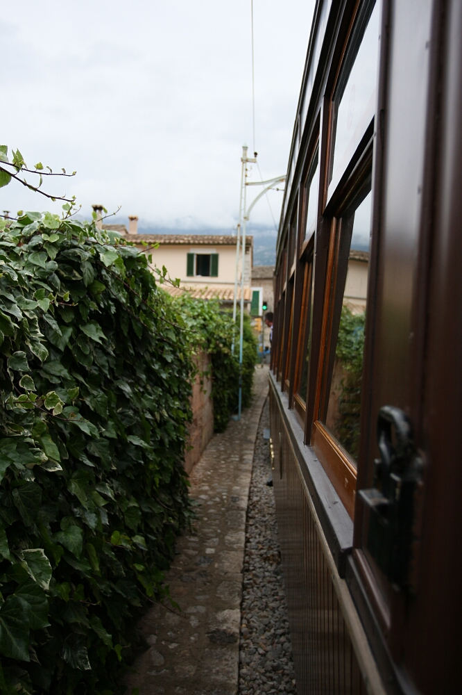 Drewniany tramwaj Tranvía de Sóller