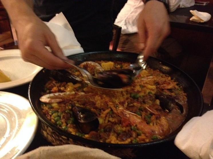 Paella wPalma de Mallorca