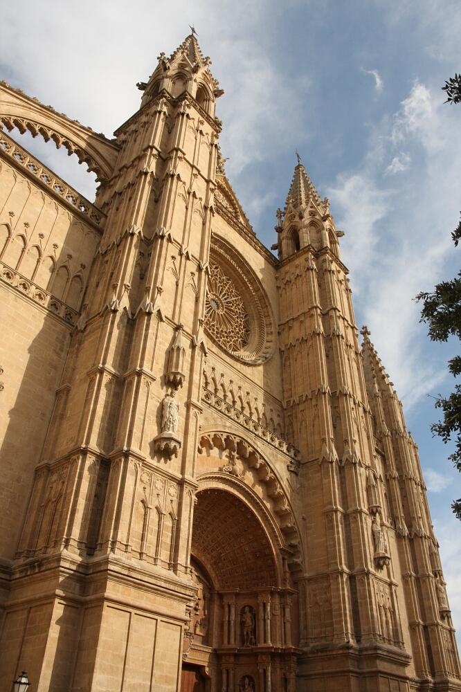 Katedra - Palma de Mallorca, stolica Majorki