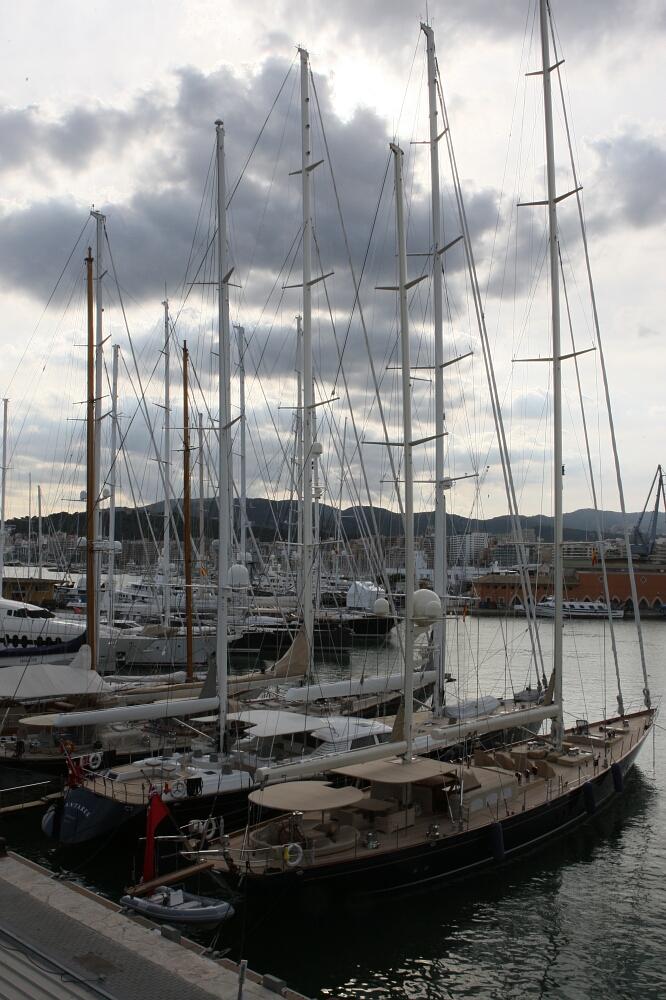 Port przy Katedrze, Palma de Mallorca, Majorka