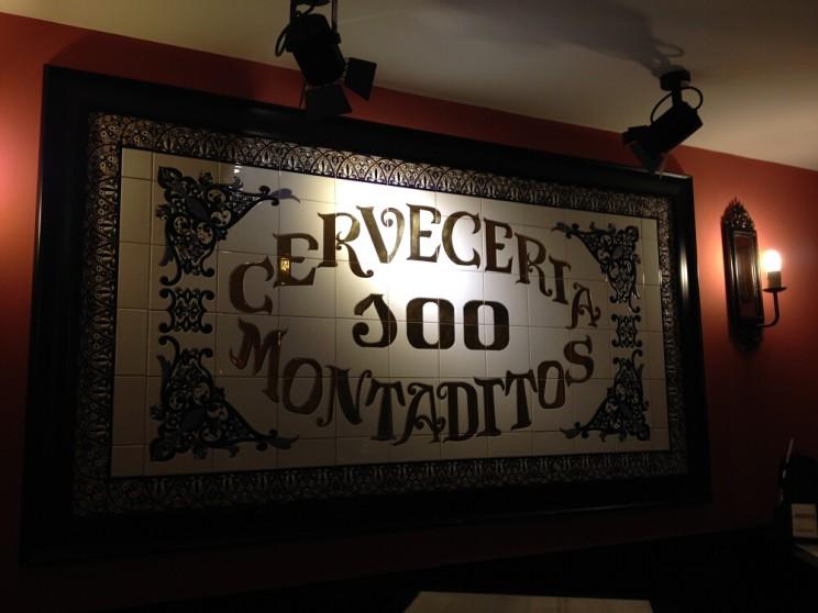 Cerveceria 100 Montadittos, Palma de Mallorca, Majorka