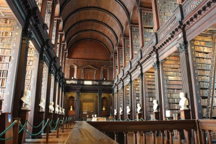 Zielona Irlandia: Dublin - Trinity College iKsięga zKells