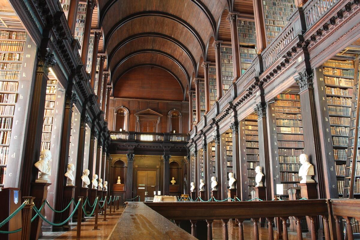 Zielona Irlandia: Dublin – Trinity College iKsięga zKells