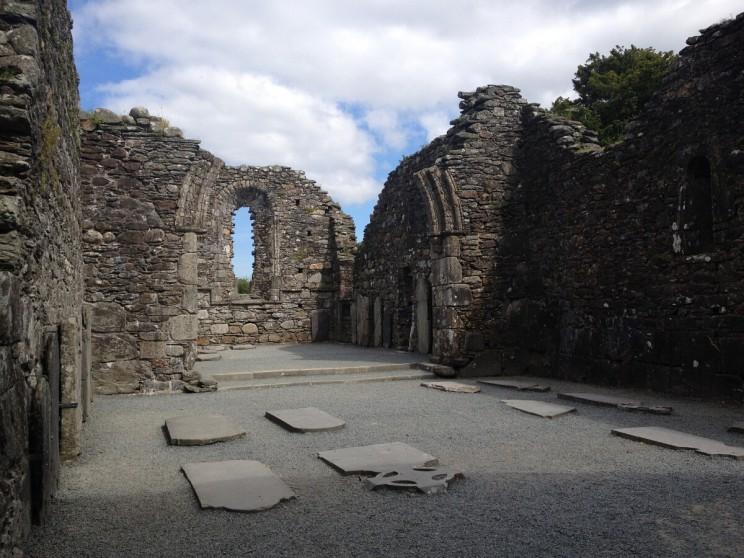 Ruiny Katedry wGlendalough