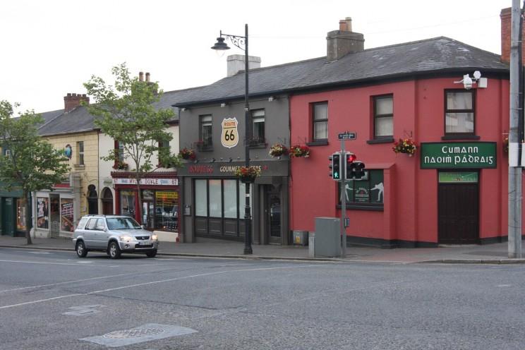 Gorey, hrabstwo Wexford, Irlandia (czerwiec 2014)