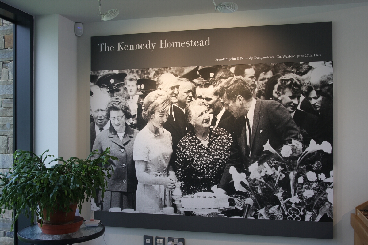 Zielona Irlandia: New Ross i The Kennedy Homestead