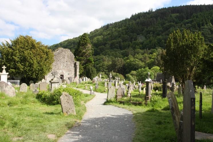 Cmentarz uruiny Katedry wGlendalough