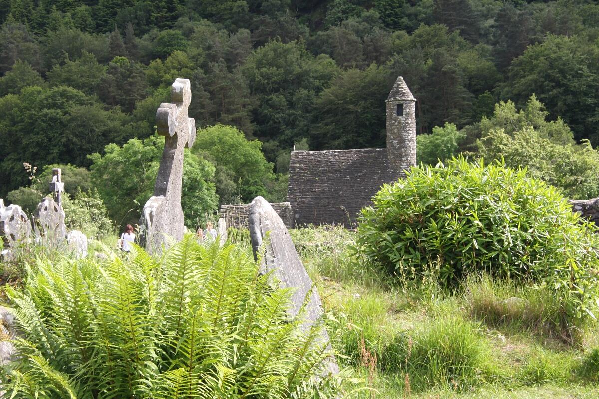 Zielona Irlandia: Glendalough