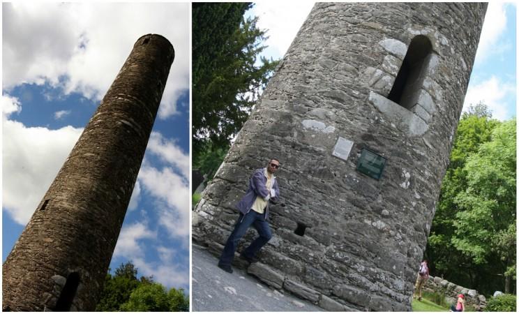 Okrągła Wieża (The Round Tower) wGlendalough