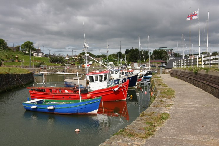 Courtown Harbour - Marina, hrabstwo Wexford, Irlandia