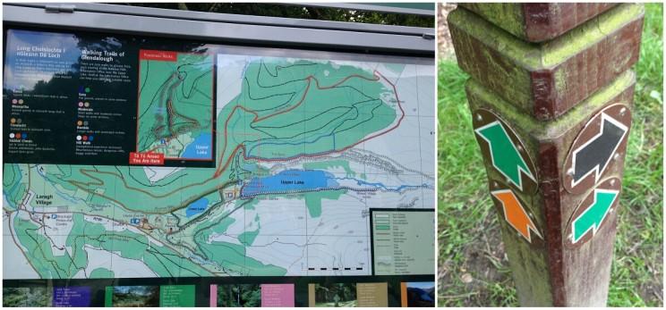 Glendalough - trasy trekingowe
