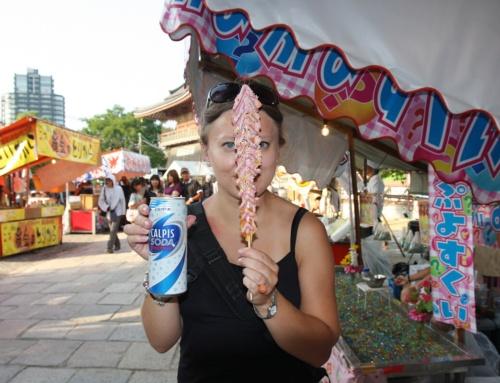 """Japoński street food #1: polecane miejsca z""""ulicznym"""" jedzeniem"""