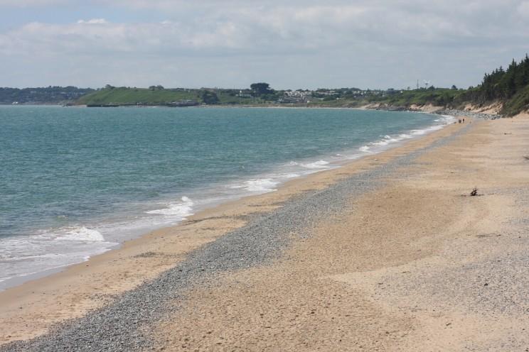 Widok naport wCourtown (Courtown Harbour), hrabstwo Wexford, Irlandia