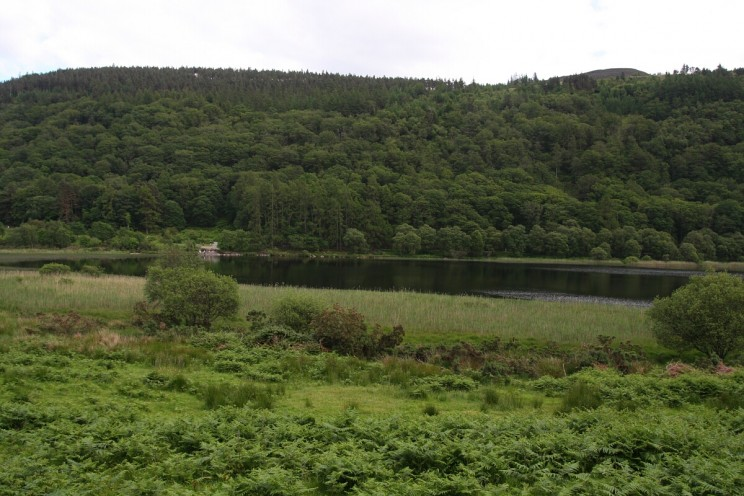 Jezioro Dolne Lower Lake, Glendalough