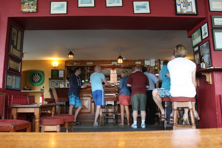 The Strand Bar, Cahore Point, hrabstwo Wexford, Irlandia