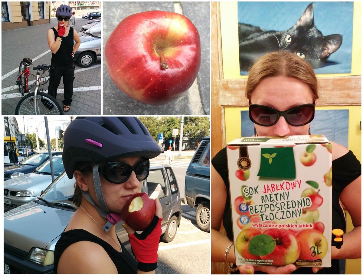 Lubimy polskie jabłka! Nie lubimy japońskich!