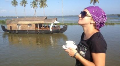 Magiczne Backwaters (Kerala, Indie Południowe)