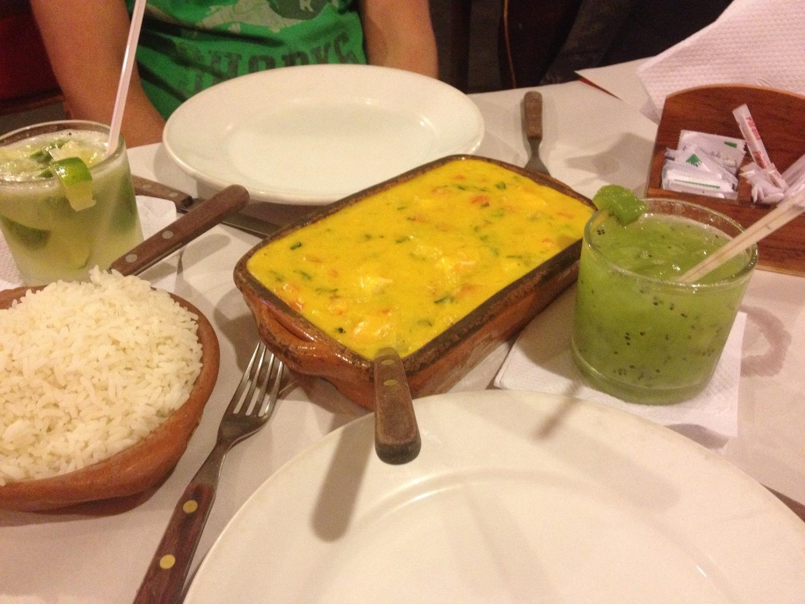 Brazylijskie uczty: bobó de camarão ibuffet libre