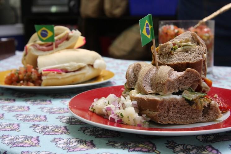 Targi kulinarne Panela NaRua: brazylijskie kanapki