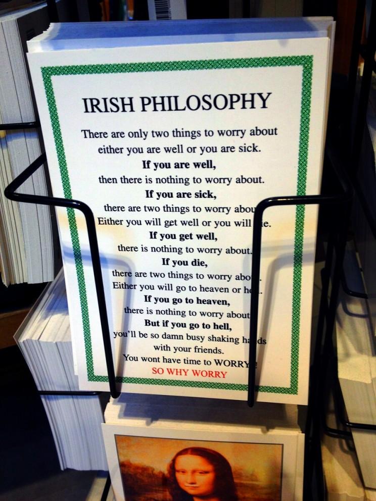 Co przywieźć zIrlandii? Pocztówki