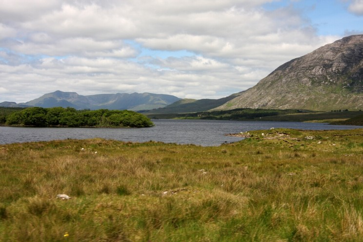 Park Narodowy Connemara (Connemara National Park) - Lough Inagh