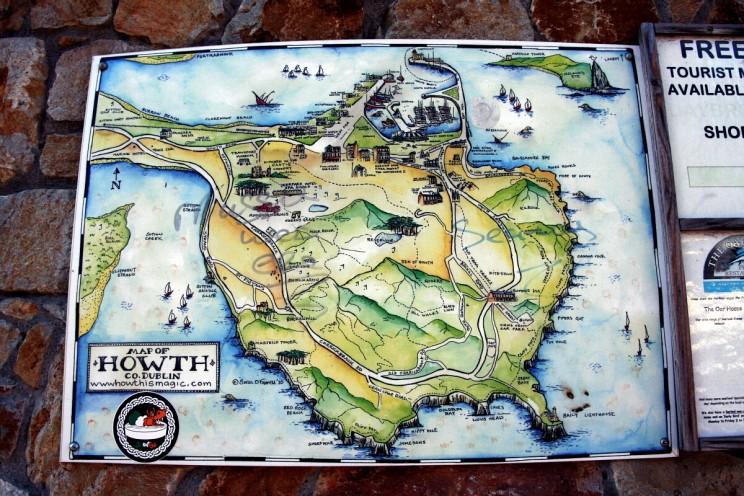 Rybacka wioska Howth, Irlandia