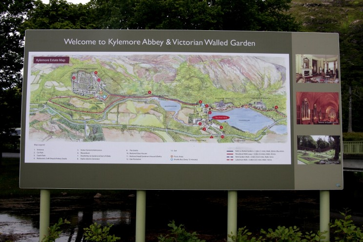 Welcome to Kylemore Abbey! Map