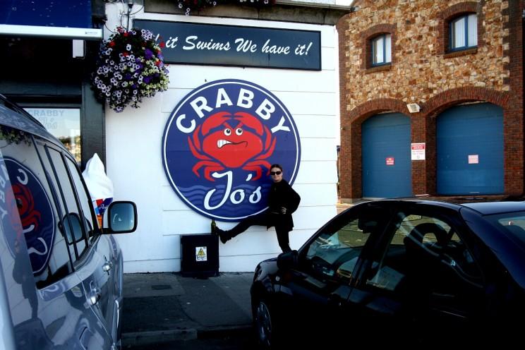 Jo's Crabby - czyli kraby odJózka, Howth, Irlandia