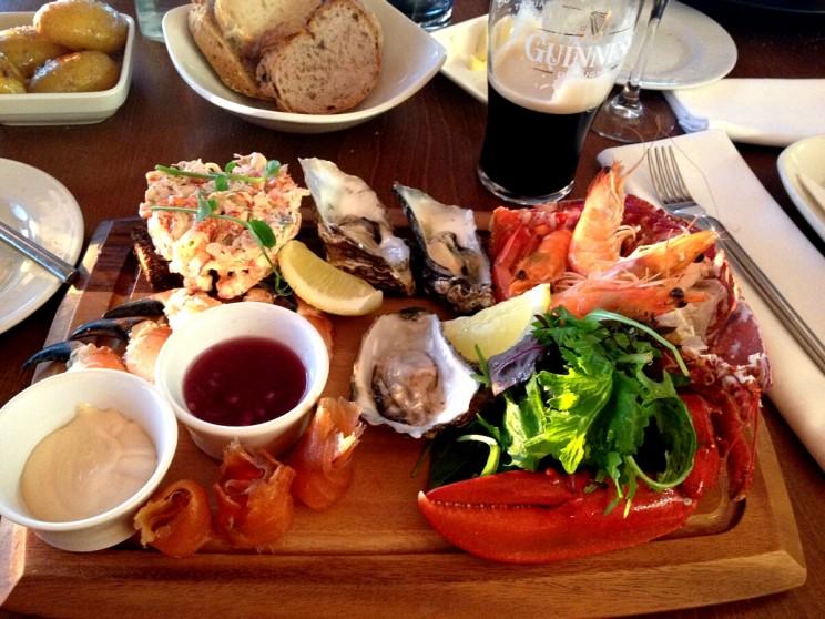Owoce morza - Howth, Irlandia