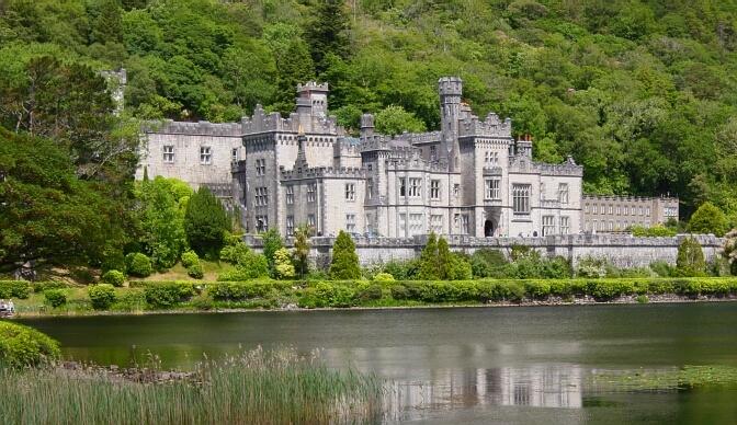 Zielona Irlandia: Kylemore, Diamond Hill iClifden