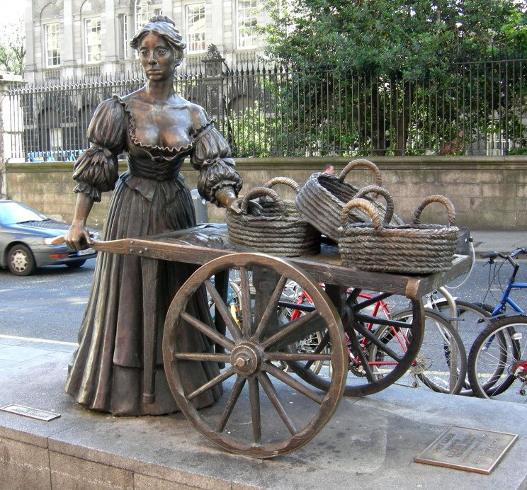 Molly Malone, Grafton Street, Dublin, Irlandia
