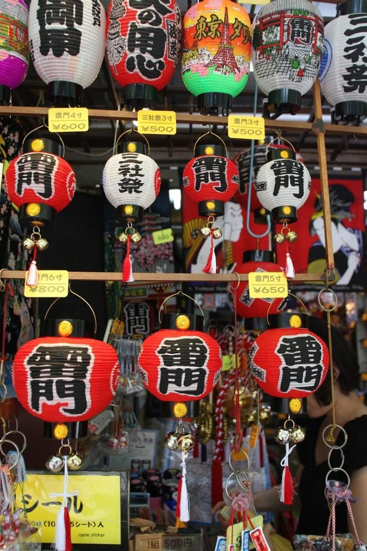 Kanji tygodnia: brama - lampiony wświątyni Sensō-ji wAsakusa