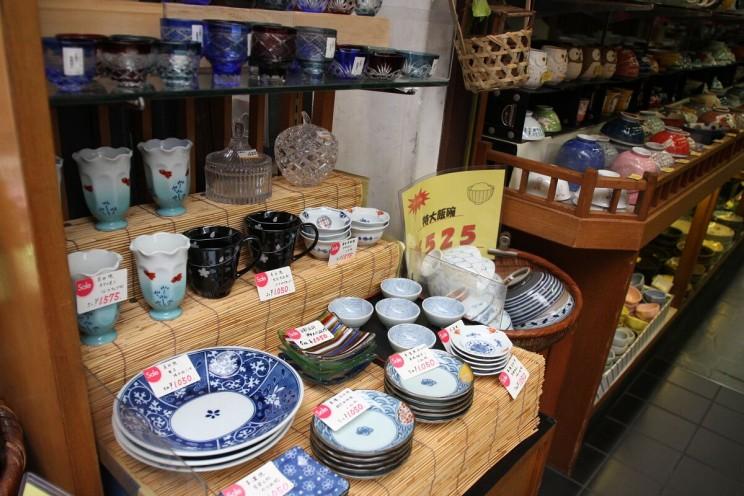 Bardziej klasyczna japońska tradycyjna ceramika