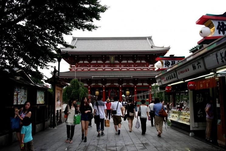"""Wewnętrzna brama Hōzō-mon (jap. 宝蔵門) - """"Brama Skarbów"""""""
