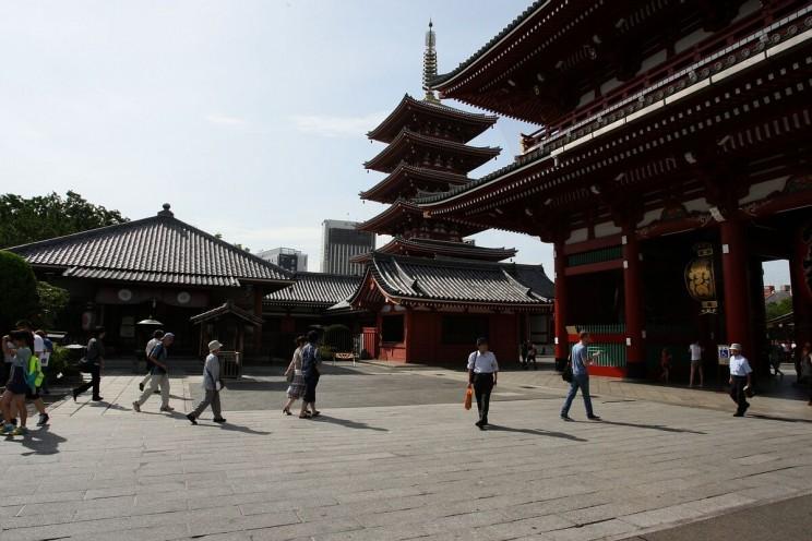 Jest ipięciopiętrowa pagoda
