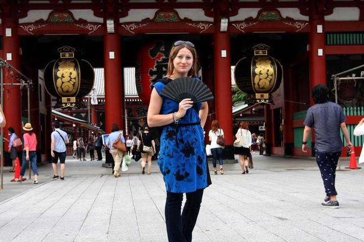 Kanji tygodnia: brama - Hōzō-mon wświątyni Sensō-ji wAsakusa