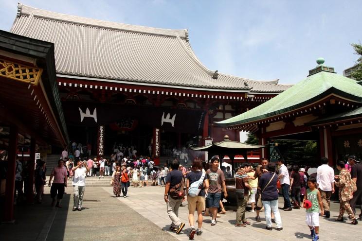Kannon-dō - czyli główny budynek, wktórymczczona jest buddyjska bogini Kannon