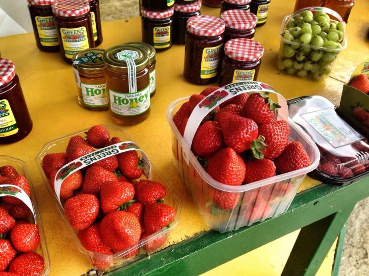 Kuchnia irlandzka: Greens Berry Farm
