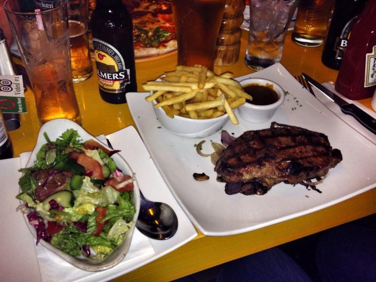 Kuchnia irlandzka: steak zsosem pieprzowym