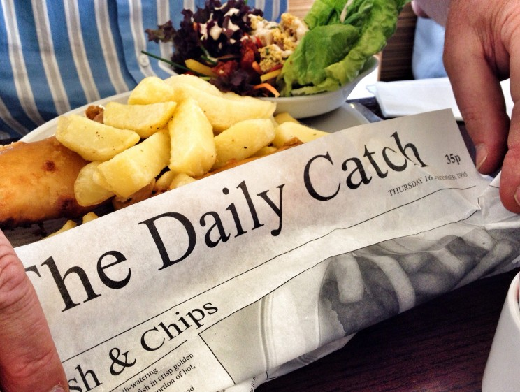 Kuchnia irlandzka: fish and chips