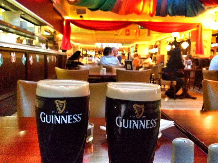 Kuchnia irlandzka: stout beer Guinness