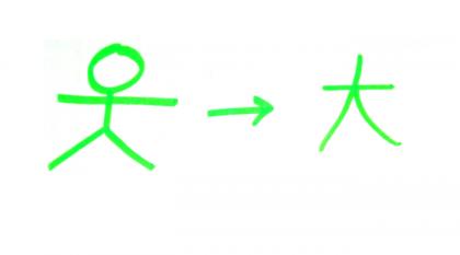 Kanji tygodnia: duży (大)