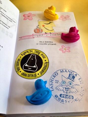 Książka wPodróży doTokio - akcja blogerów podróżniczych - bookcrossing