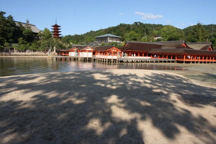 Miyajima / Itsukushima, prefektura Hiroszima, Japonia