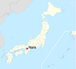 Nara, prefektura Nara, Japonia